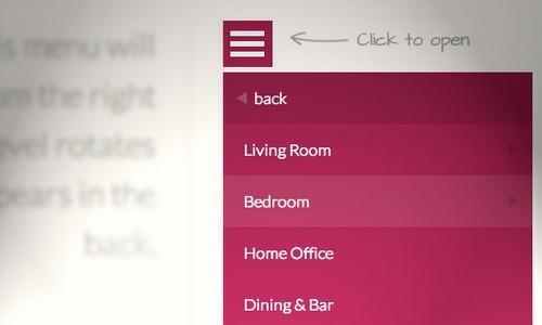 Вертикальное многоуровневое меню для сайта