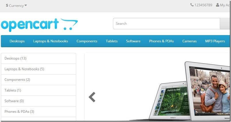 OcStore 2.1 (OpenCart 2.1) улучшаем страницы товаров