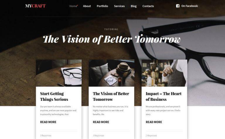 Где подобрать современный шаблон WordPress